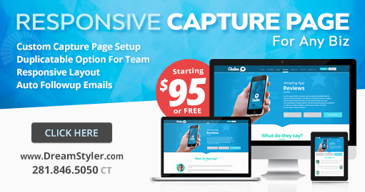 Why Responsive Capture Landing Page?