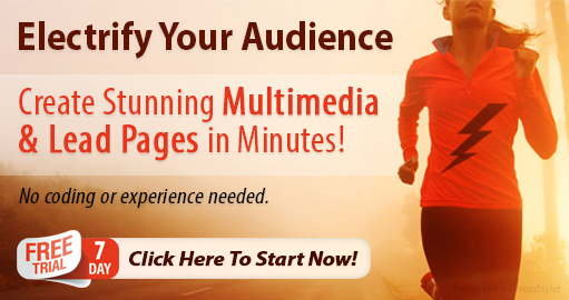 Electrify Your Audience Banner