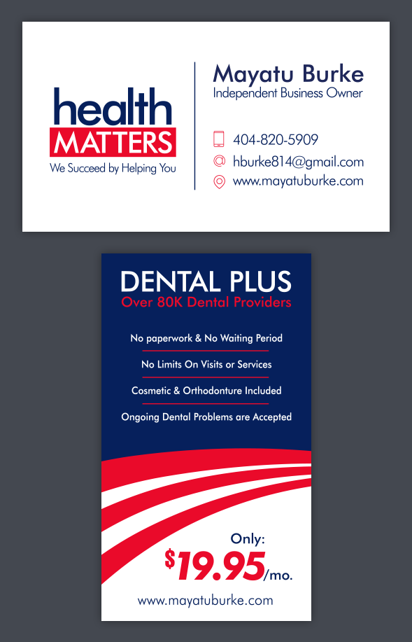 Health Matters Business Card