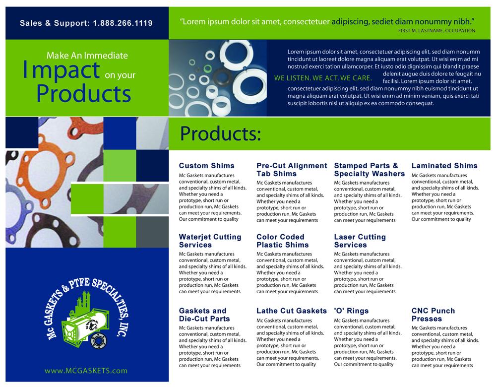 McGaskets Brochure