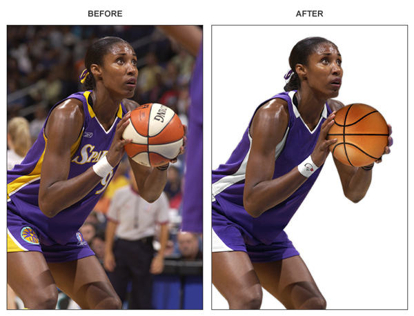 Photoshop Skills - Before & After