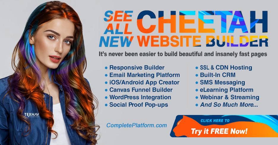 Cheetah Website Builder