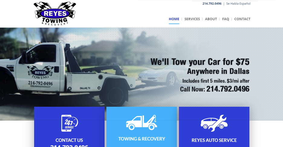 Reyes Towing & Recovery