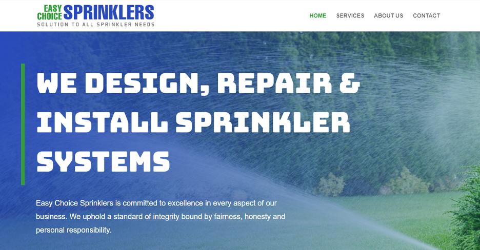 Easy Choice Sprinklers